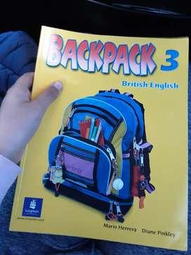 Libro de ingles Backpack 3 - Longman