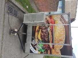 Food truck / Trailer de comidas rápidas