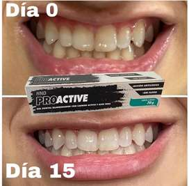 Crema dental carbon activado
