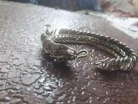Pulsera .dragon chino, de plata 50 Gra, tibet