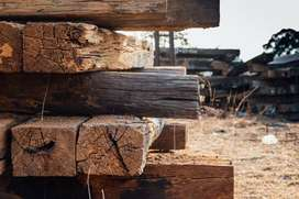 Durmientes madera