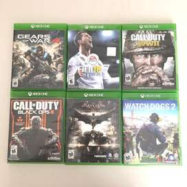 Juegos para Xbox One en adelante