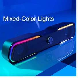 Parlante Multimedia con Luces