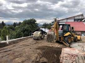 ALQUILER DE: Gallineta, Rodillo Compactador, Retro excavadora, Miniexcavadora, Cargadora frontal, Volquetas, Excavadoraa