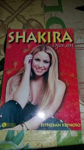 Libro Revista Shakira