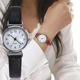 Relojes de pulsera con correa de cuero