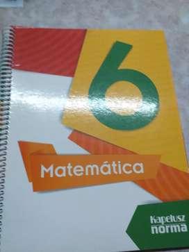 Libro matematica 6 grado kapelusz