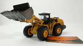 Maquinas de Construcción a escala de metal HuiNa 1714 1/50 Cargador caterpillar a Escala