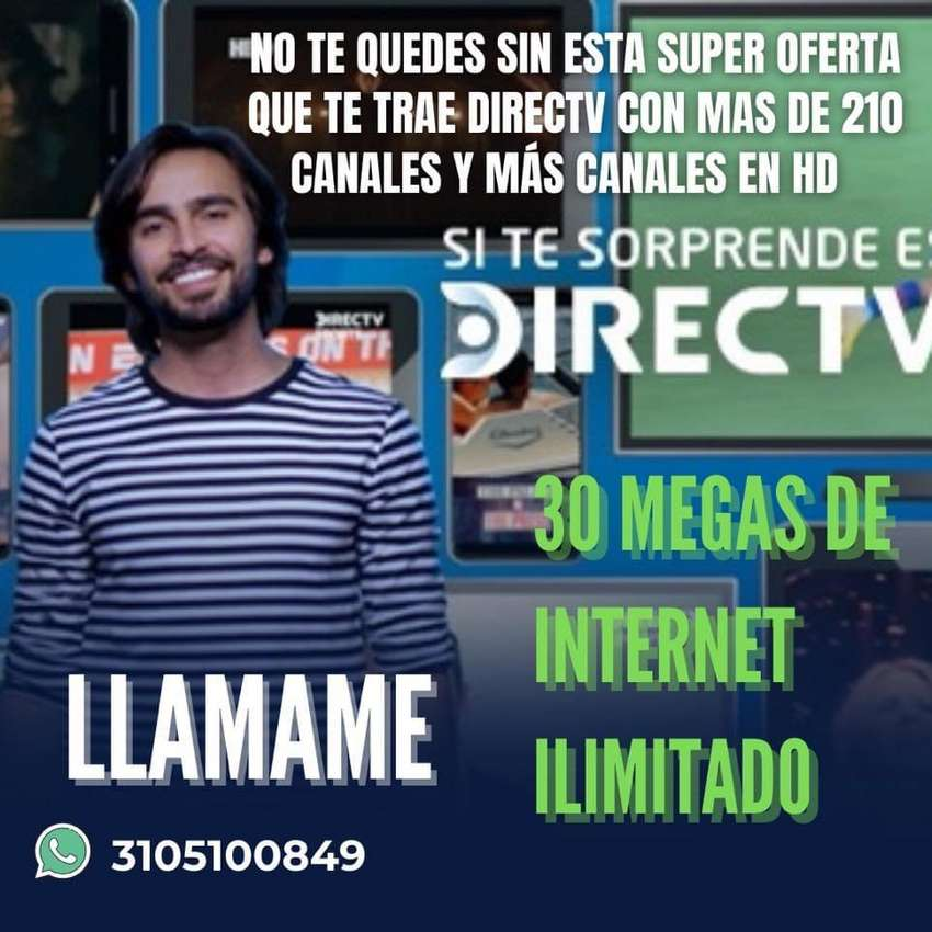 Internet y television directv