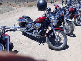 Honda Shadow vlx600cc.