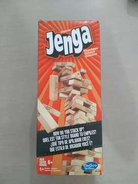 Jenga torre de madera original Jenga, juego de mesa para la familia y/o amigos en muy buen estado