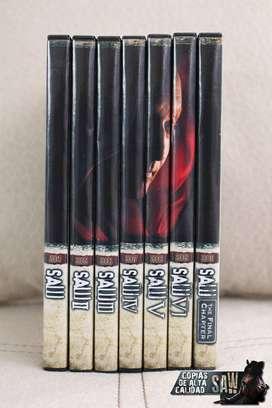 Saw Colección El Juego del Miedo 7 Dvd's Copias Excelente Calidad
