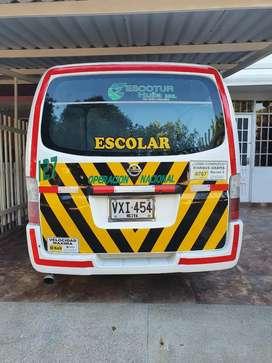 ColectivoEscolar Nissan 2006.Excelente estado,papeles al día,único dueño y con Ruta Escolar.