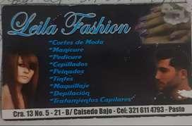 LEILA FASHION PELUQUERÍA PASTO