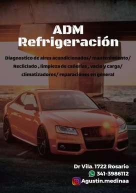 Reparación de aire acondicionado  Automotor