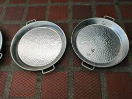 paelleras en aluminio y quemadores a gas