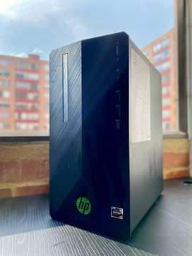 Torre PC HP Gamer GTX 1050Ti