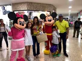 Personajes Disney, Disfraz adulto, Muñecones, Muñecos, Recreación