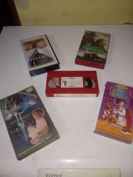 100 Películas en VHS originales