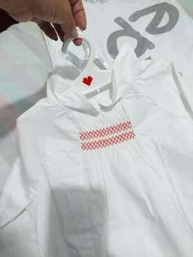 Blusa nueva EPK T12 blaca