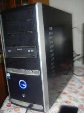 Cpu Pentium Core Dos Duo E6550 Ram 2gb Funcionando Muy Rapid