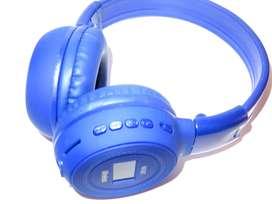 Audifonos Bluetooth Bs-n65t Con Pantalla , Micro Sd Y Fm