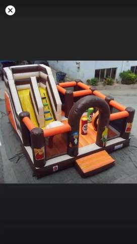Inflable laberinto