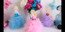 Souvenirs centros de mesadecoracion princesas de disney