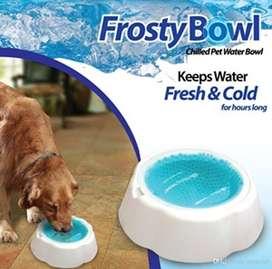 Plato Para Mantener El Agua Del Perrito Fresca Frosty Bowl PARA TU AMIGO FIEL