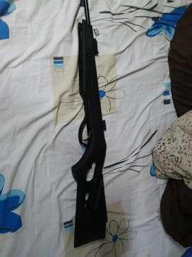 Rifle aire comprimido Kral 5.5 potenciado