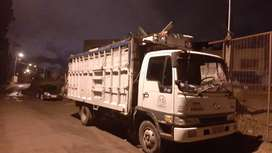 Camion disponible para transporte o mudanza.directo a guayquil