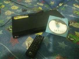Dvd lg para repoducir dv, cd cd-r y vcd player