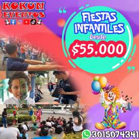 RECREACION | RECREADORES | ANIMACIÓN | PAYASOS | FIESTAS INFANTILES