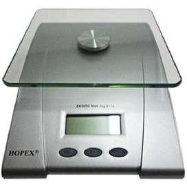 Bascula Cocina Digital Gramera Pesa Alimentos 5 Kilos Alta Precisión
