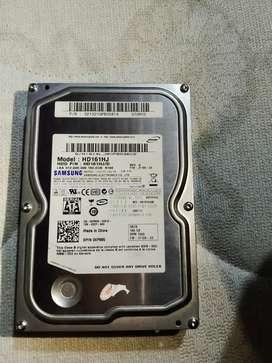 Disco duro de 160gb
