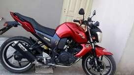 Vendo moto yamaha fz. titular