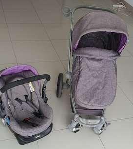 Coche de bebe Infanti Epic con silla de auto