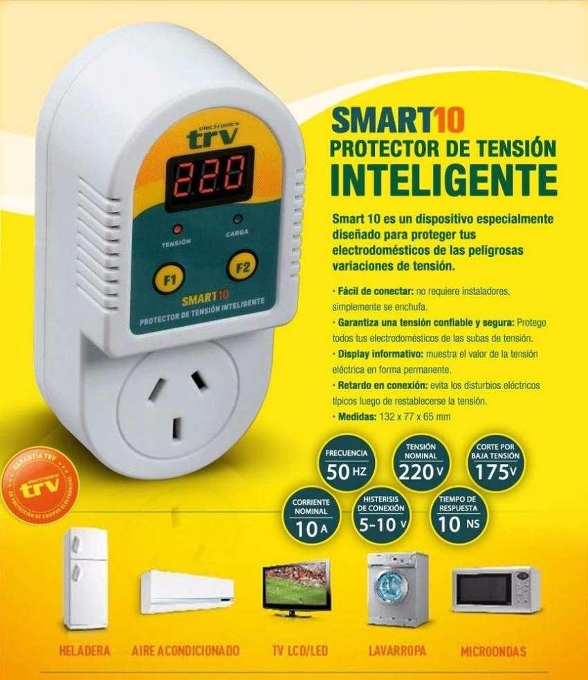 PROTECTOR INTELIGENTE TRV SMART 10AMPERES/Envío a domicilio S/CARGO 0