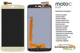 Reemplazo Pantalla Moto C Moto c plus + Garantia + Servicio tecnico trujillo