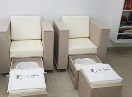 Se vende sillón multifuncional de manicura y pedicura