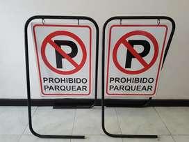 Vendo Letreros ¡prohibido Parquear!