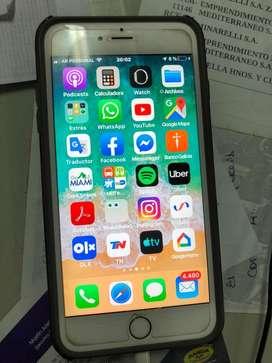 Iphone 6 s plus 64 gs usado unico dueño