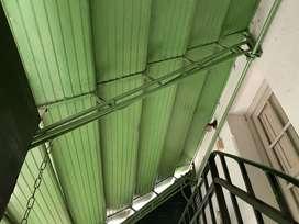 Techo Aluminio para Patio plegable