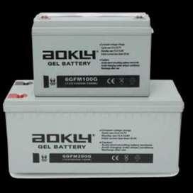 Batería gel ciclo profundo 12v 100 ah