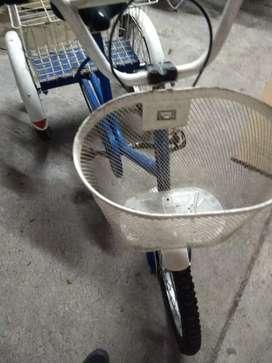 Tricicleta Enrique como nueva