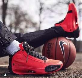 Zapatos nike jordan 34 rojos