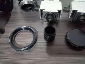 Microscopios quirúrgicos lentes y accesorios