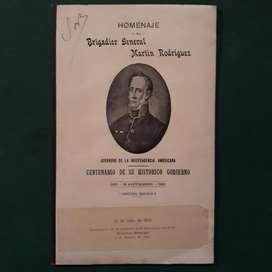 Homenaje A Martín Rodriguez. José Biedma 1920