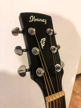 Guitarra electroacustica Ibanez Aeg 10 negra
