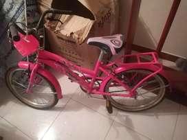 Bicicleta playera como nueva